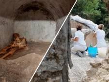 'Best bewaarde menselijke resten ooit' gevonden in Pompeï