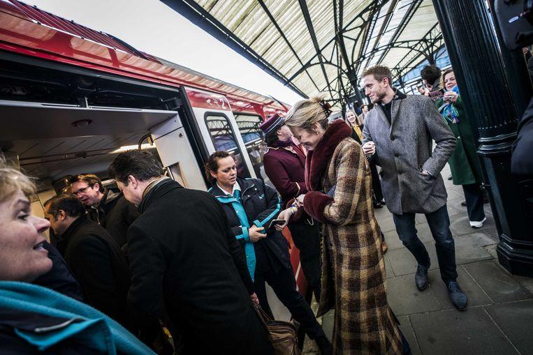 In de komende dagen kunnen er nog enkele honderden passagiers mee met de experimentele trein.