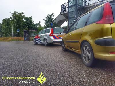 Rijbewijs ingenomen als dwangmiddel op de A16 bij Breda