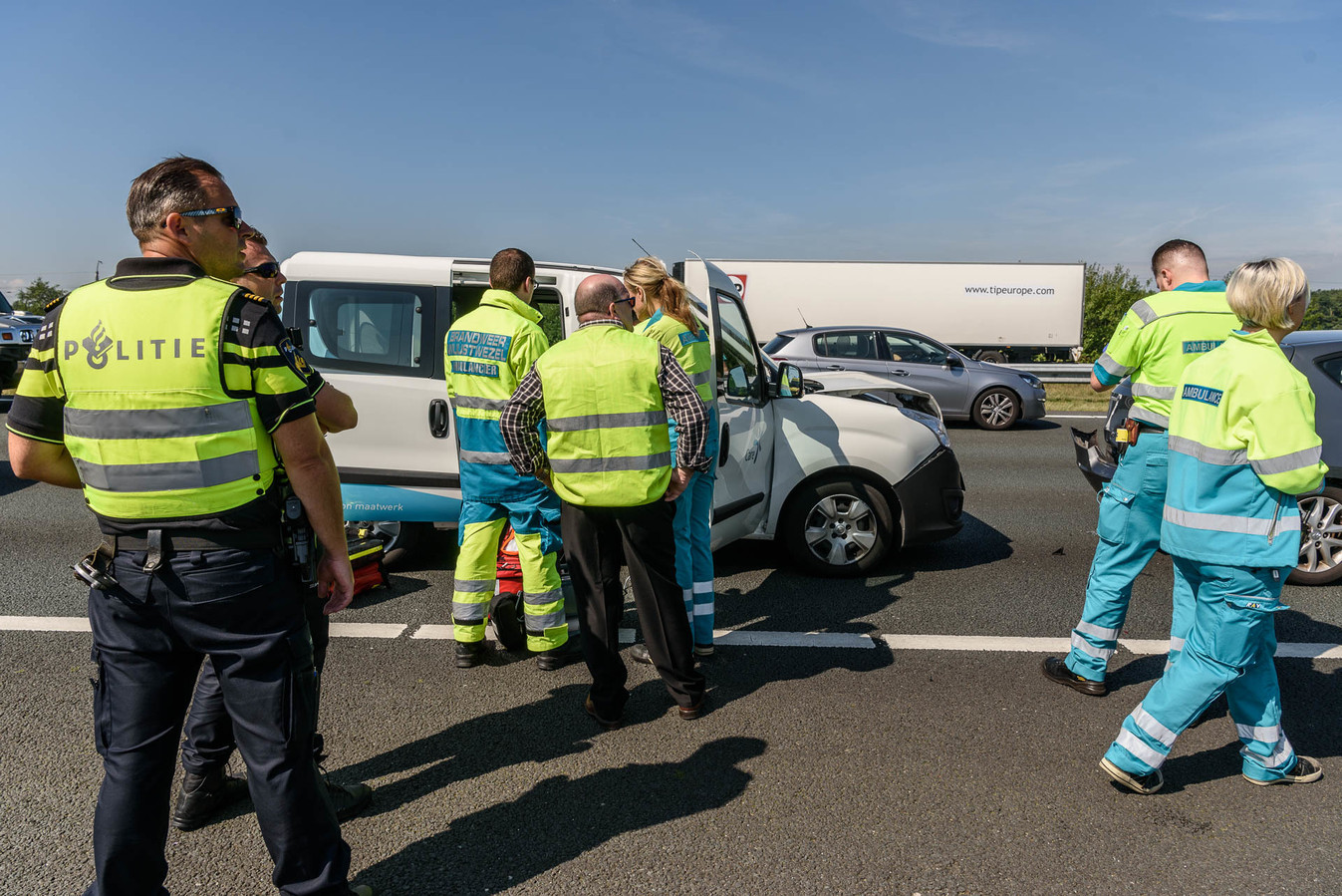 Ongeval A16.