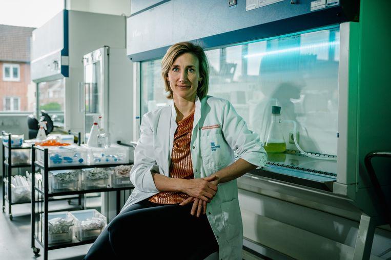 Professor Isabel Leroux-Roels. Beeld Wouter Van Vooren