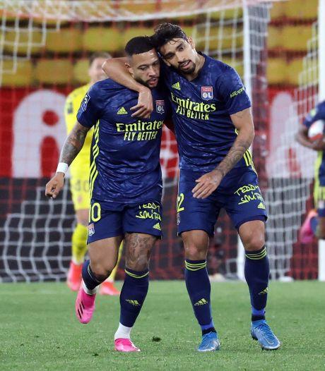 Depay schittert met goal en assist in heerlijke Franse topper bij AS Monaco