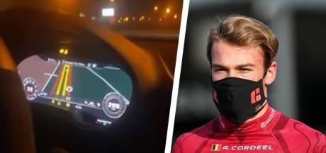 Belgische coureur scheurt met 300 kilometer per uur over snelweg en zet beelden op TikTok