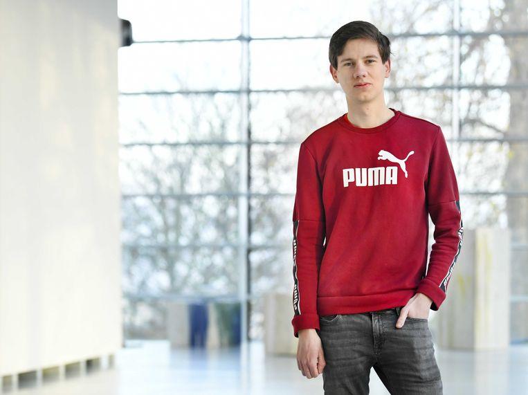 Olaf Kemerink werd geroyeerd door de SP, maar keerde zondag terug als voorzitter van jongerenafdeling Rood.  Beeld ANP