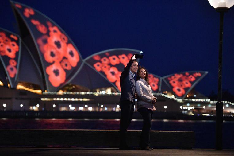 Het operagebouw van Sydney. Beeld AFP