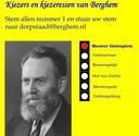 De nieuwe poster over Meester Gielen.