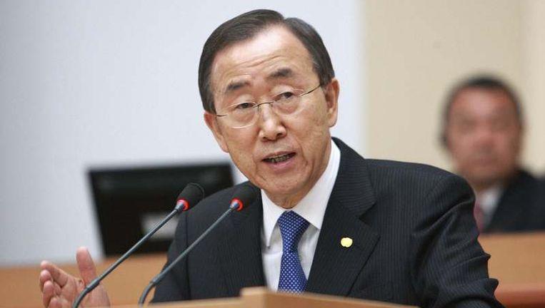 Ban Ki-moon Beeld UNKNOWN