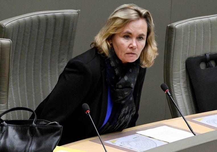 Vlaams minister voor Integratie en Inburgering Liesbeth Homans (N-VA). Beeld Photo News