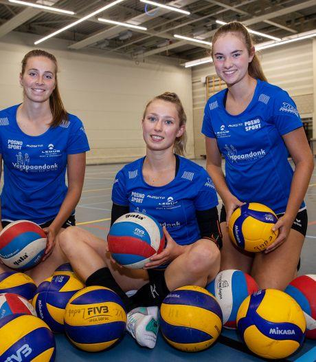 Ledûb-aanvoerster Nikkie Wouters: 'Ik wil het volleybal en onze club op de kaart zetten'