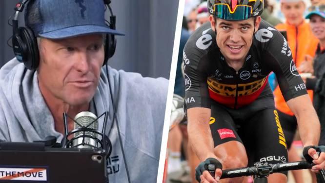 """Lance Armstrong également impressionné par Van Aert: """"Je n'ai pas de mots pour le décrire"""""""