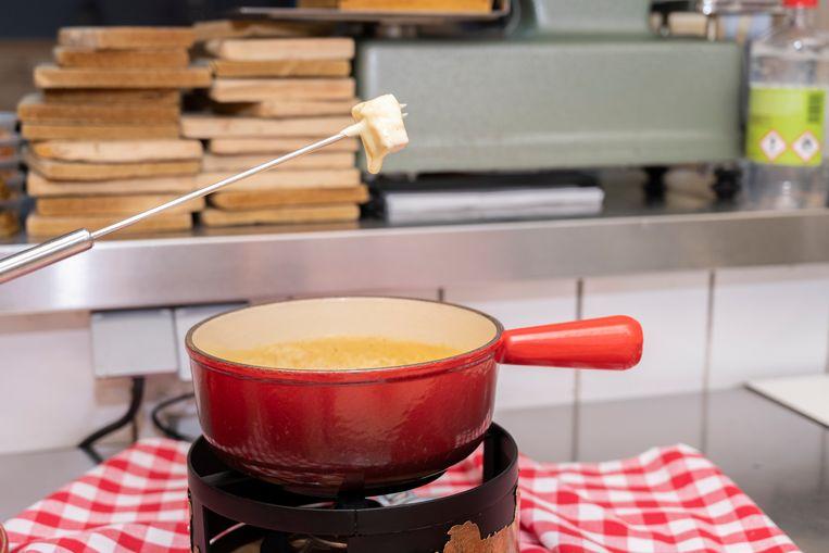 'Het fijnste van een goede fondue', zegt Casasole, 'is dat hij tijdens het eten ook echt verándert.' Beeld Els Zweerink