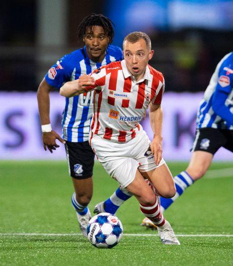 Geen spektakel in Eindhoven, TOP Oss neemt punt mee naar huis