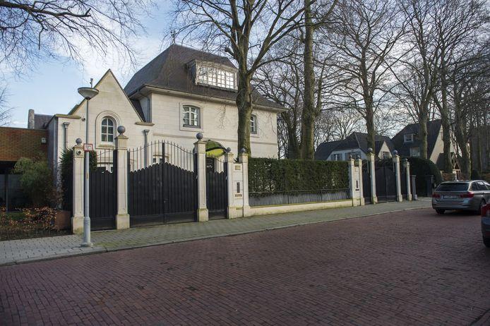 Het optrekje van Daleyot in de Dennenlaan in Wilrijk.