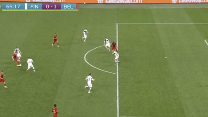 Amper te zien: 0-1 van Lukaku afgekeurd na millimeters offside