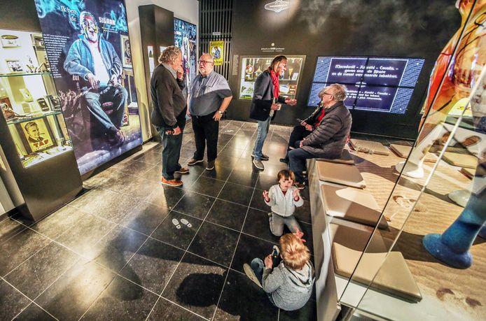 De expositiezaal vooraan in het Tabaksmuseum is volledig heringericht