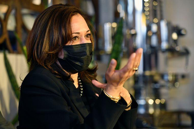 Vicepresident Kamala Harris van de Verenigde Staten. Beeld AP