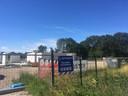 Het bouwterrein waar de nieuwe Cornelia gebouwd moet gaan worden