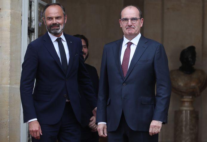 Edouard Philippe et Jean Castex