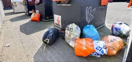 Berg afval in huis groeit nu iedereen thuiszit