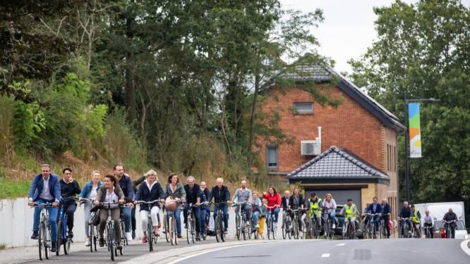 Meer dan vier kilometer aan fietspaden geopend aan Meldertsebaan
