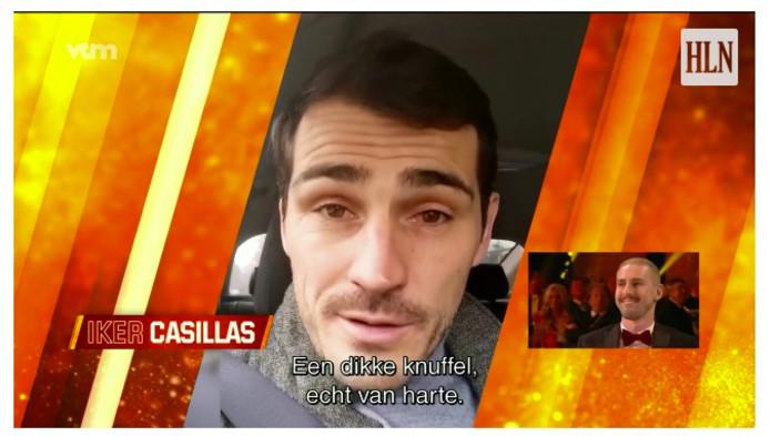 Iker Casillas sprak bemoedigende woorden voor de keeper van Cercle