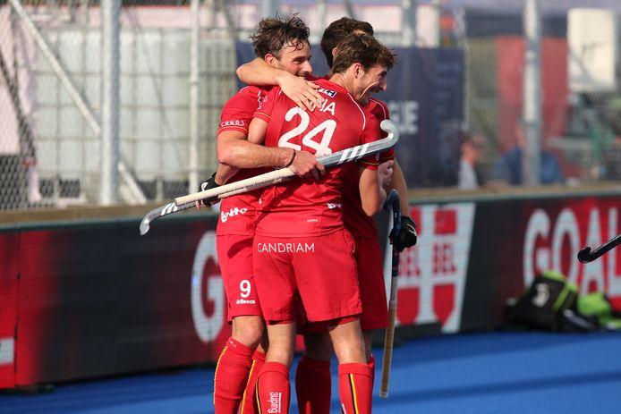 Les Red Lions en Nouvelle-Zélande, le 2 février 2020.