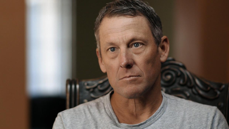 Lance - documentary USA-2020 Marina Zenovich - caption: Lance Armstrong Beeld ESPN