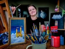 Agnes (29) gooide noodgedwongen het roer om en begon met schilderen: 'Achteraf dankbaar dat ik ziek werd'