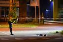 De politie doet onderzoek na de aanrijding zaterdagnacht op de Kayersdijk. Het slachtoffers is mogelijk opzettelijk aangereden.
