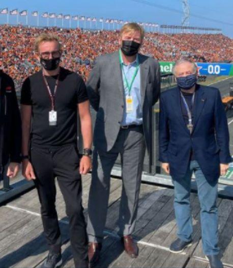 Ook koning ziet Max Verstappen pole pakken in Zandvoort