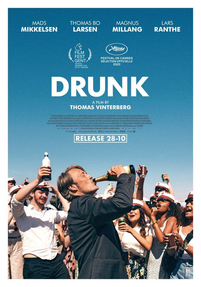 """""""Drunk"""" de Thomas Vinterberg."""