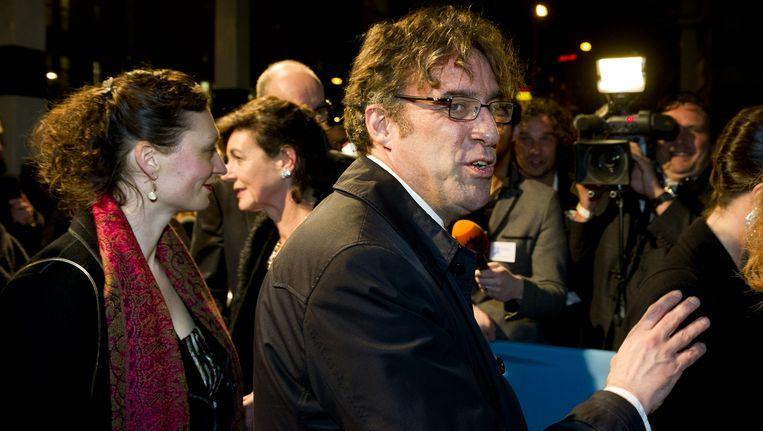 Zwagerman bij het Boekenbal in 2012 Beeld anp