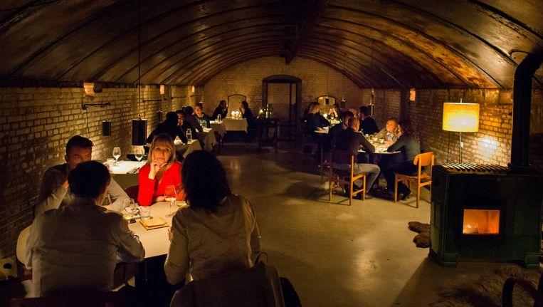 Het Winterrestaurant op Vuurtoreneiland Beeld Mats van Soolingen