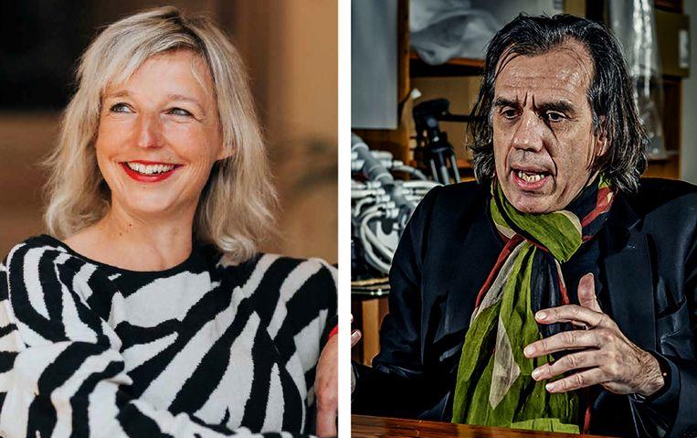 Josje Smeets en Dirk De Wachter Beeld Josje Smeets / Geert Van de Velde