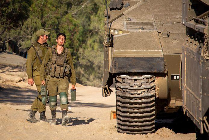"""Après avoir annoncé la présence de ses soldats dans la bande de Gaza, l'armée israélienne a fait marche arrière vendredi, évoquant un """"problème de communication en interne""""."""
