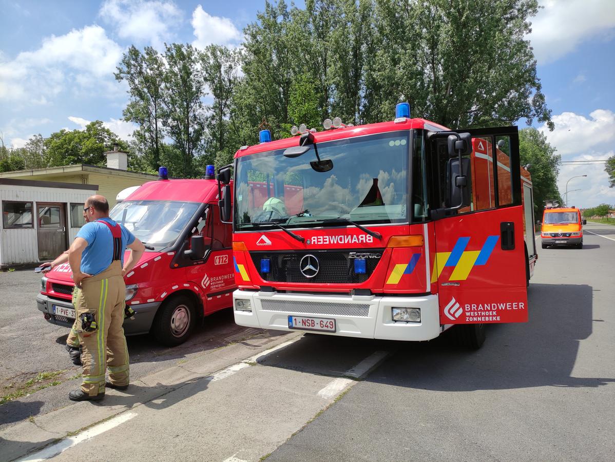 De brandweer kon het vuur meteen blussen