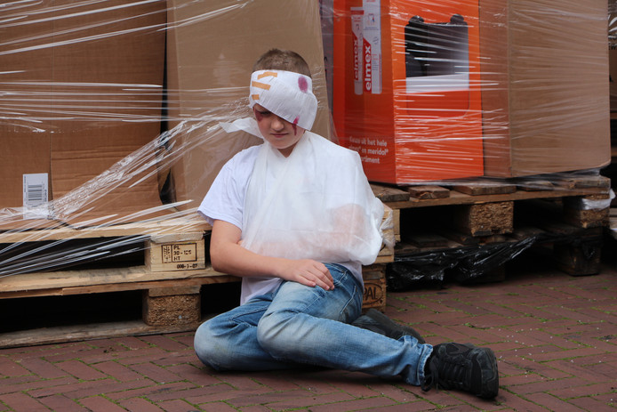 Slachtoffer nog in shock in de Weverstraat.