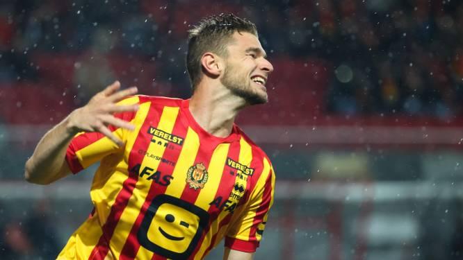 """Hugo Cuypers (KV Mechelen) scoort tegen ex-club Standard: """"Jammer dat het nu interlandbreak is"""""""