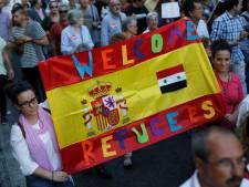 Tienduizenden betuigen steun aan vluchtelingen