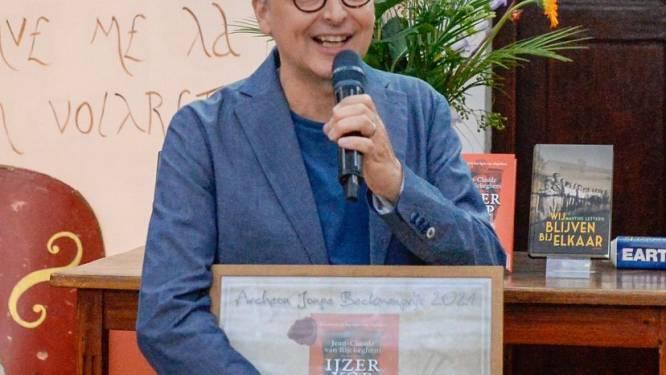 Archeon rijkt Thea Beckmanprijs uit aan Belg, voor boek  IJzerkop