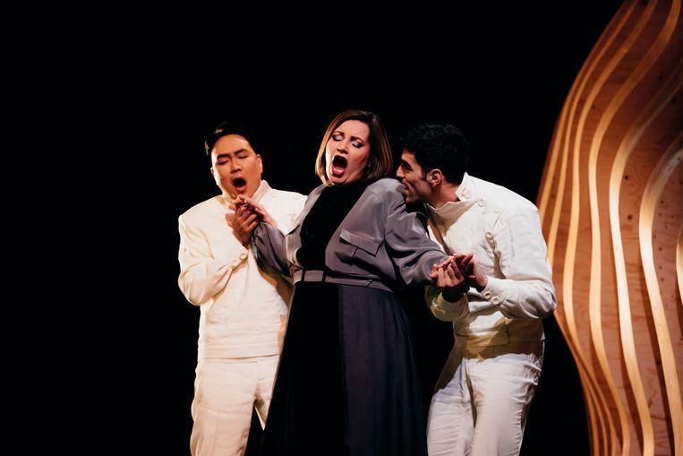 'Rusalka' van Antonín Dvořák verdient beter dan de bewerking die nu te zien is bij Opera Vlaanderen. Beeld Filip Van Roe