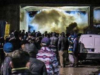 Nieuwjaarsnacht in The Jungle van Calais: spinazie uit blik, modder en traangas