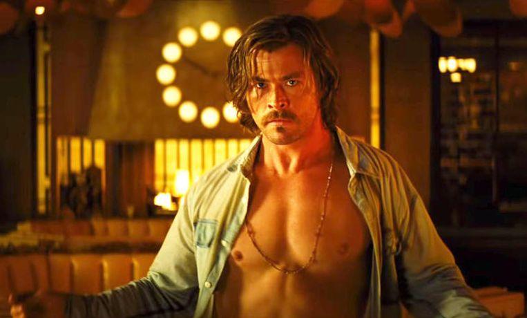 Chris Hemsworth in Bad Times at the El Royale van Drew Goddard. Beeld