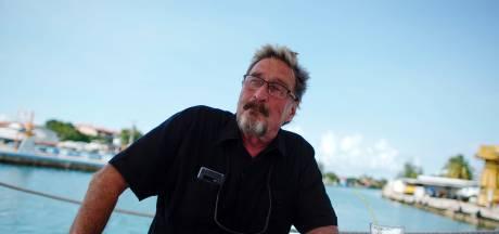 Schatrijke antivirus-pionier John McAfee 'verdiende 13 miljoen over rug van Twittervolgers'