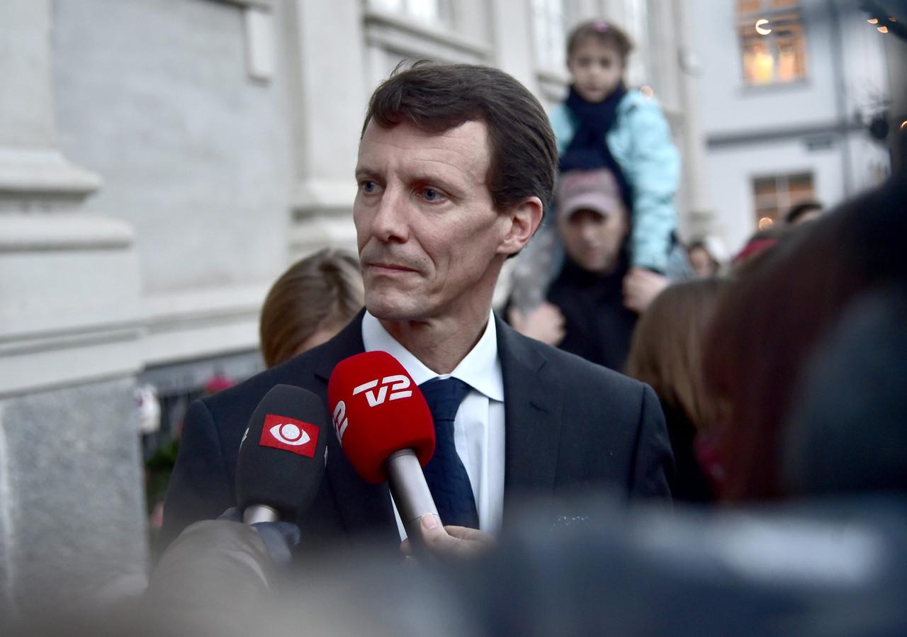 Deense prins Joachim