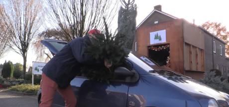 Nieuw: supersnelle kerstboom uit de drive-through voor drukke Achterhoekers