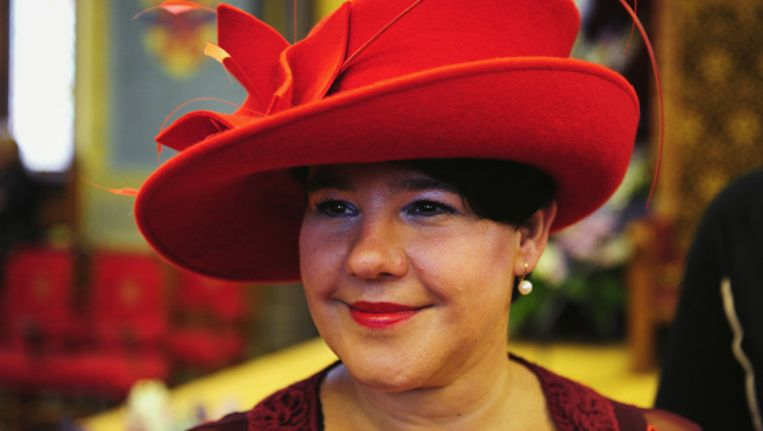 Sharon Dijksma op Prinsjesdag in 2010. Beeld ANP