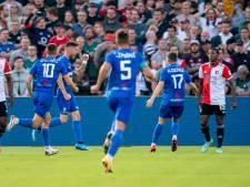 LIVE | Bizarre wending in de Kuip: FC Drita komt op voorsprong na uitglijder Fer