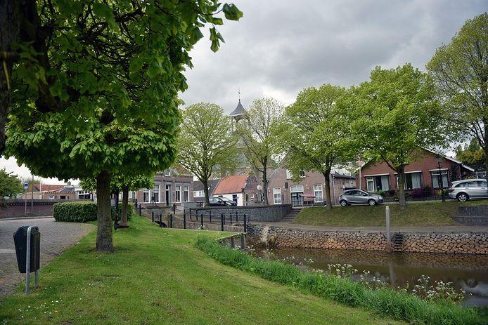 De haven van Hooge Zwaluwe