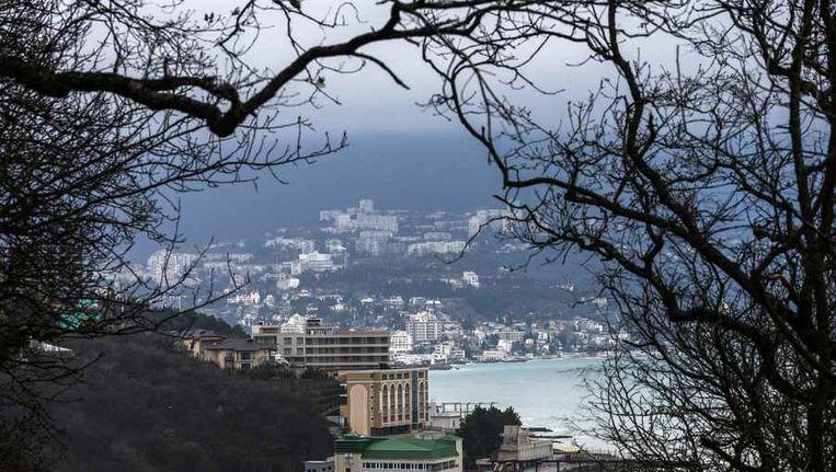 De stad Jalta op de Krim aan de Zwarte Zee. Beeld reuters